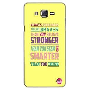 Designer Samsung Galaxy J5 Case Cover Nutcase-Braver Stronger Smarter