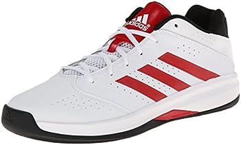 adidas isolamento 2 basso mens scarpe bianco / nero dal nucleo scarle /