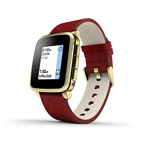 pebble-511-00036-time-steel-e-paper-display-gold-with-red-leather-band-smartwatch