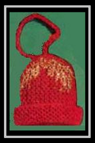 Knitting Pattern: KNITTED CHRISTMAS BELL - VINTAGE 1951 - Downloadable Ebook (ePattern) - AVAILABLE FOR DOWNLOAD to Kindle DX, Kindle for PC, Mac, iPhone, ... Christmas tree, holiday, gift, knit)