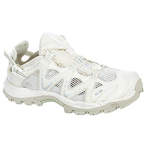 Salomon Riverside Techamphibian 3 Outdoorschuhe Outdoorsandale Trailschuhe weiß/grau, Schuhgröße:EUR 36