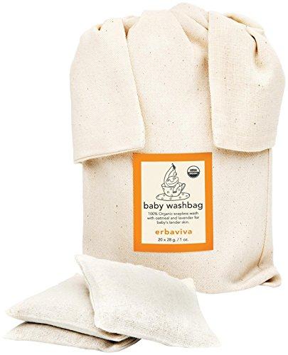Erbaviva Baby Washbag Pouch, Ivory