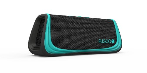 Fugoo Sport Bluetooth Wireless Speaker (Black/Teal)