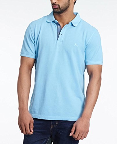 Masculino Latino Casual Turquoise T-shirts Polo for Men MLP302C-M