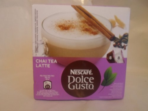 Find Spanish Chai Tea Latte-Nescafe Dolce Gusto 16 Capsules (8 servings) by NESCAFE