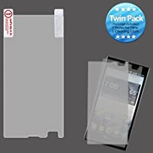 buy Warrior Wireless (Tm) Lg Vs930 (Spectrum 2) Screen Protector Twin Pack + Bundle = (Item + Cellphone Stand) - By Thetargetbuys