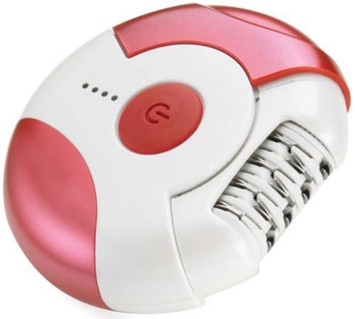 Epilady Epic Cordless Epilator Light Red - Dented Can