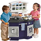 Heartwarming Little Tikes Side By Side Kitchen - Blue - Cleva Edition H8' Bundle