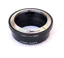 Fotasy Canon FD FL Lens to CANON EOS M EF-M Mount Mirrorless Camera Adapter