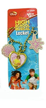 High School Musical Locket Necklace of Chad - Yellow