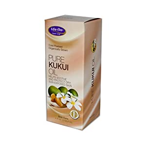 Life-Flo Oil, Pure Kukui, 4 Ounce
