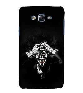 printtech Joker Gotham Scary Back Case Cover for Samsung Galaxy J7 / Samsung Galaxy J7 J700F