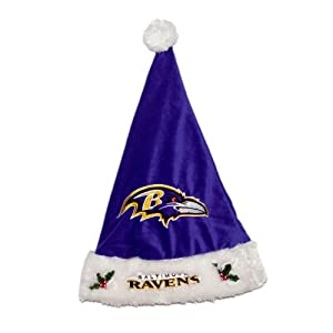 NFL Baltimore Ravens Santa Hat - Purple by Forever Collectibles