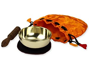 Meditation Klangschalen Set mit Beutel -5038-L-