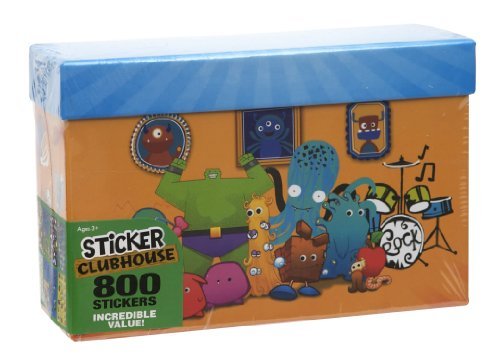 Paper Magic Sticker Clubhouse 800 Count Sticker Box - 1