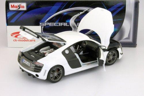 Audi R8 GT weiß / white 1:18 Maisto