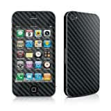 Apple iPhone 4用スキンシール【Carbon】