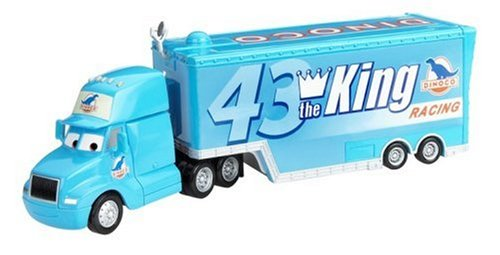 Disney Pixar CARS Gray Hauler - 43 The King Dinoco Racing