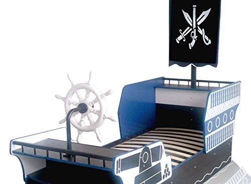 piratenbett piratenschiff kinderbett seer uber. Black Bedroom Furniture Sets. Home Design Ideas