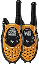 Motorola Talkabout T4900 AA Two-Way Radio Double Pack (Orange)