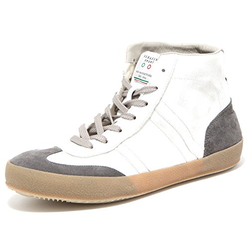 69434 sneaker SERAFINI LUXURY BASKET VINTAGE scarpa uomo shoes men [40]