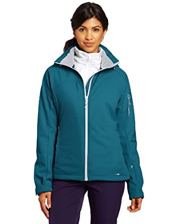 Salomon Snowtrip III 3:1 Jacket - Women's Dark Bay Blue/White, XS