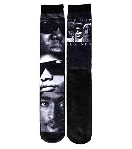 Bio World Hip Hop Legrends Socks Black 0