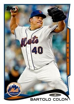 2014 Topps #631 Bartolo Colon - New York Mets (Baseball Cards)