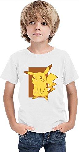 Cutie-Pikachu-Camiseta-de-los-muchachos