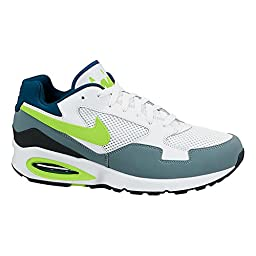 NIKE Air Max ST MEN\'S RUNNING SHOES 652976 102 white/ grey/ volt (11.5)