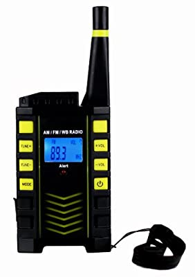 Kaito KA123 Digital AM/FM & NOAA Weather Radio with Alert & Flashlight from Kaito