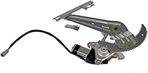 Dorman 741-565 Honda Civic Rear Passenger Side Window Regulator with Motor