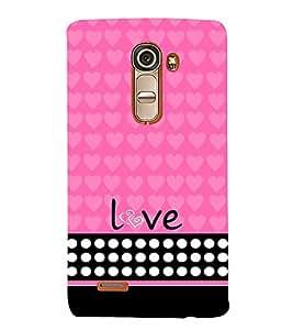 Love Girl 3D Hard Polycarbonate Designer Back Case Cover for LG G4 Mini :: LG G4C
