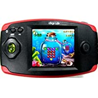 HCL ME Q120 Red Thriller - Handheld Gaming Console Learning Toy