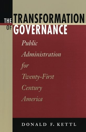 The Transformation of Governance: Public Administration...