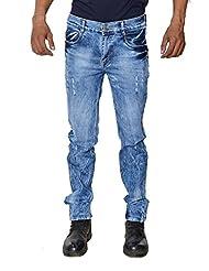 Karya Men Dark Blue Slim Fit High Fashion Jeans - B012X5OK8M