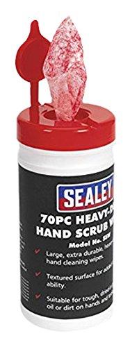 Sealey SSW Hand Wipes Heavy-Duty, Set of 70