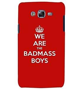 SAMSUNG GALAXY J7 BADMASS BOYS Back Cover by PRINTSWAG