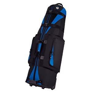 Golf Travel Bags (GTB) Caravan 3.0 Travel Bag Black-Blue Burgundy
