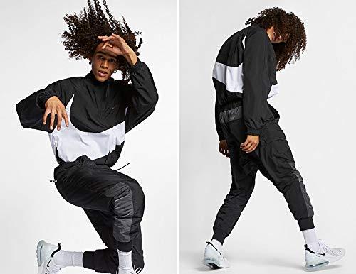 NIKE ナイキ トラックジャケット Nike Big Swoosh Woven Jacket ジャージ スポーツ ジップ おしゃれ スウッシュ ウーブン ジャケット AR3133 AR3132-010