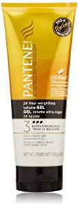 Pantene Pro-V 24 Hour Weightless Volume Gel 6.8 Oz (Pack of 3)