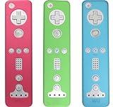 echange, troc Lot de 3 Protections en silicone pour la télécommande Wii