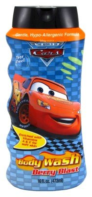 Cars Body Wash 16 oz. Berry Blast (3-Pack) with Free Nail File
