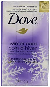 Dove beauty bar, Winter 6 Count 113g