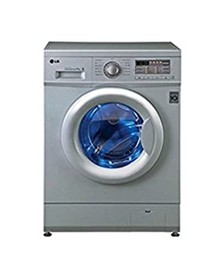 LG F10B8NDL25 Fully-automatic Front-loading Washing Machine (6 Kg, Luxury Silver)