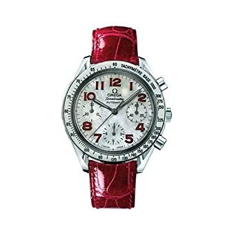 Omega Women's 3834.79.40 Speedmaster Reduced Automatic Chronograph Watch