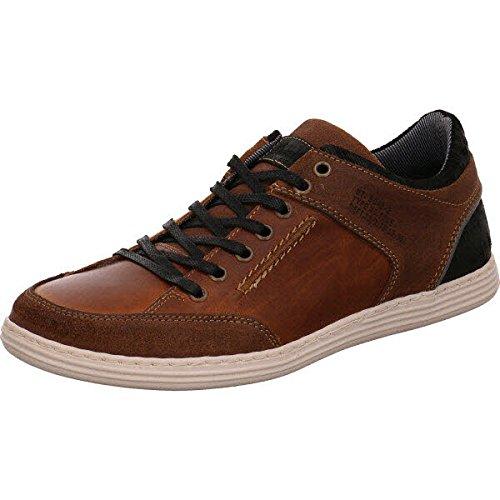 BULLBOXER 499k26025acobksu00, Sneaker uomo, marrone (cognac), 44