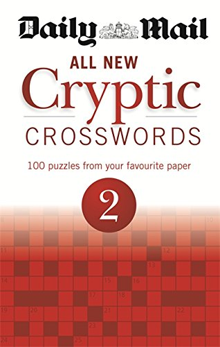 Daily Mail: All New Cryptic Crosswords 2 (The Daily Mail Puzzle Books) PDF