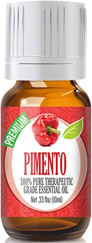 Pimento 100% Pure, Best Therapeutic Grade Essential Oil - 10ml