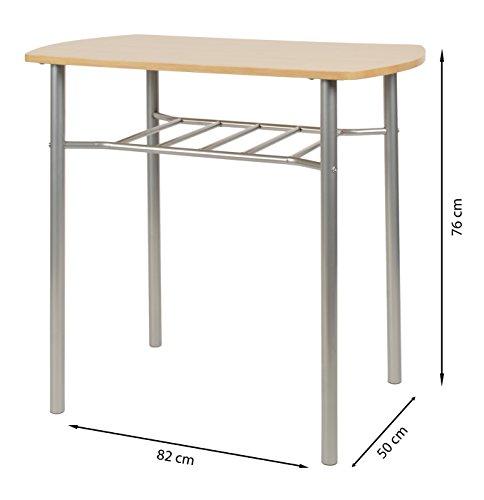 Ts Ideen 3er Set Essgruppe Tisch Stuhl Platzsparend